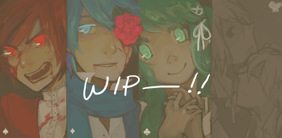 Who is the next Alice? WIP by KimKimsGalore