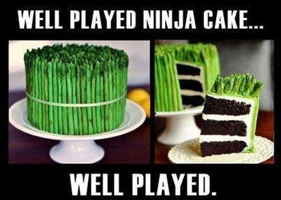 Ninja Cake by Haileym2000
