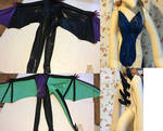 [Still in Progress] Latex Noivern and Lugia Suit