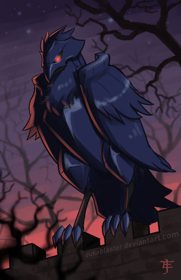 Corviknight Pokemon Sword And Shield By Dukeblaster On Deviantart