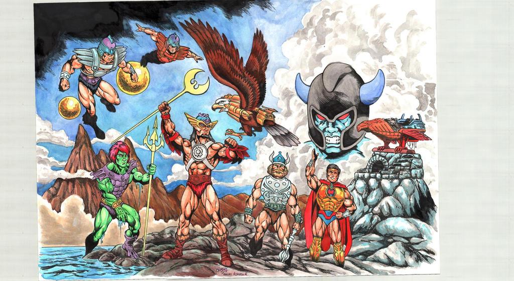 Heroses of Pre-Eternia by danbrenus