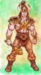 The barbarian champion