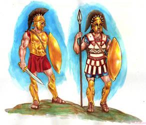 Spartans by danbrenus
