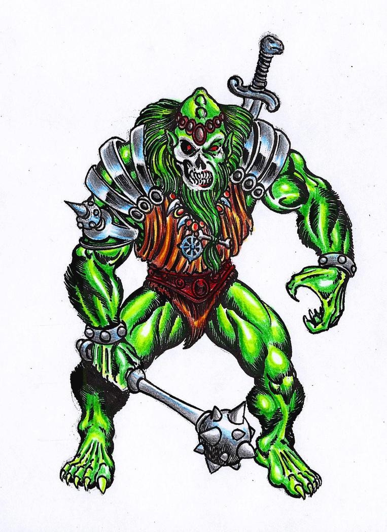 Demo-man the evil warlord by danbrenus