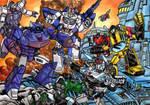Assault at Autobot city