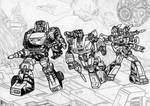 Autobot assemble 3 lines