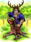 Cernunnos god of wilderness