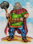 Sucellos god of the celts