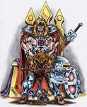 King He-man of Grayskull