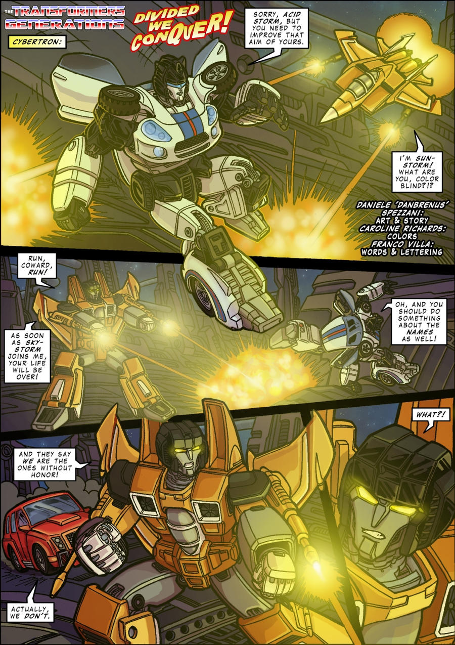 THE TRANSFORMERS: GENERATIONS part 1