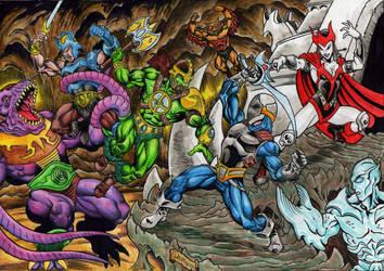 Defenders of Eden poster by danbrenus