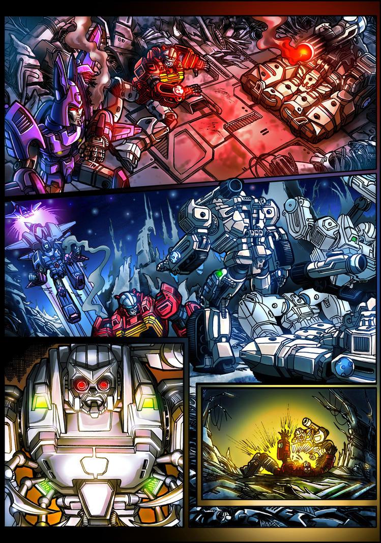 KFC Transistor comic page 4 by danbrenus