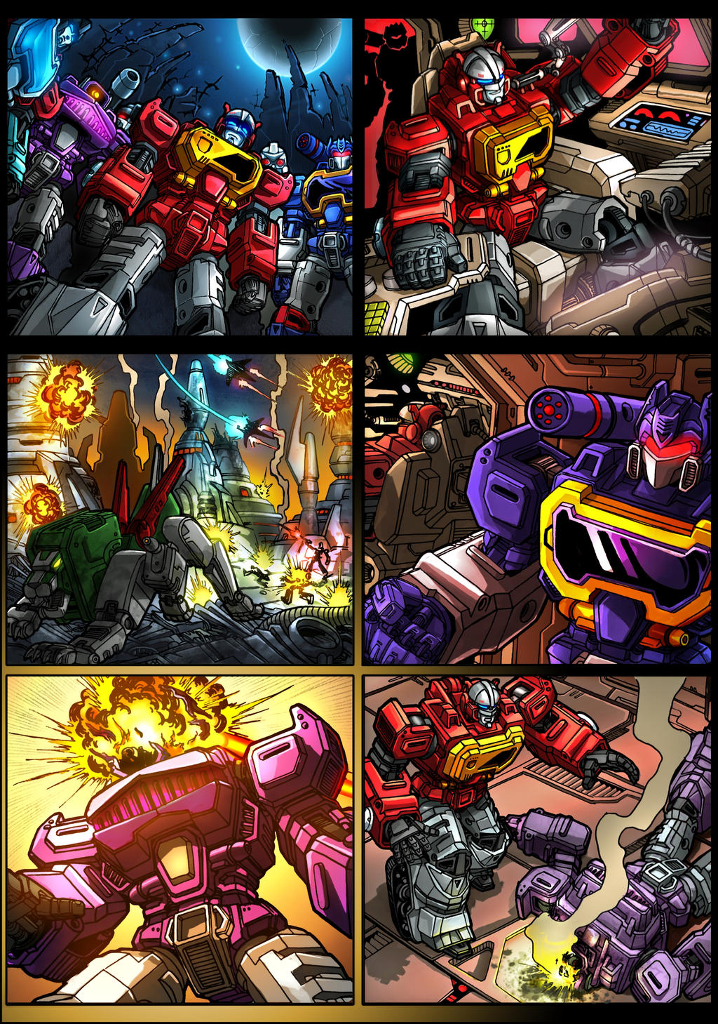KFC Transistor comic page 1