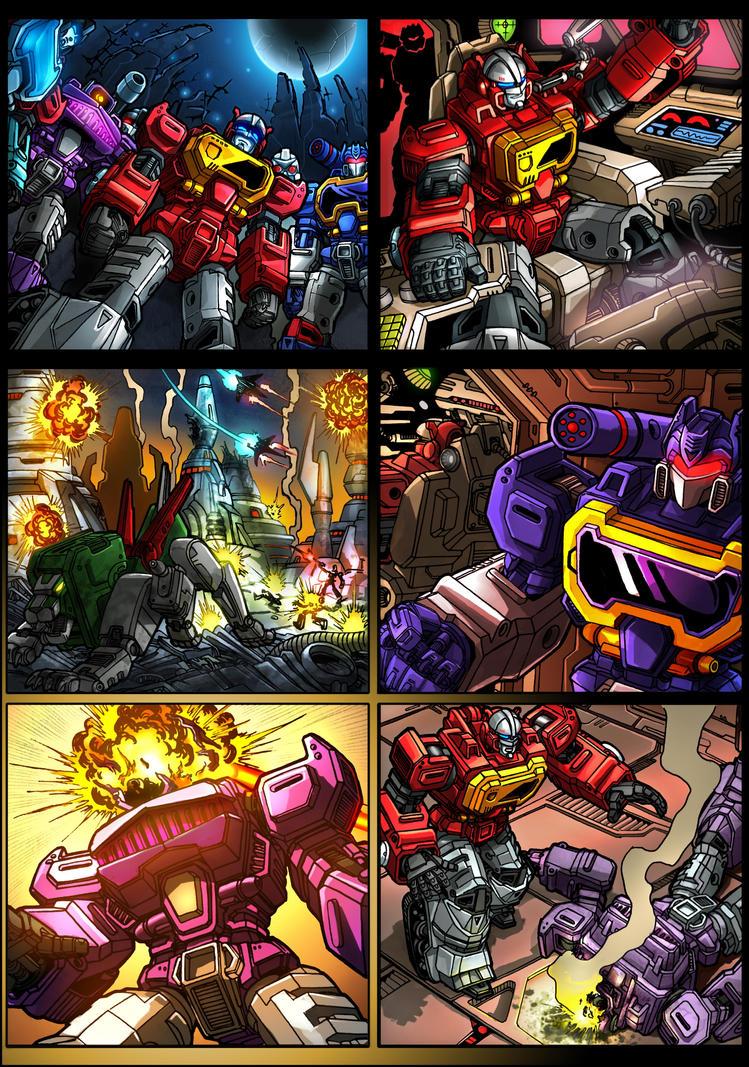 KFC Transistor comic page 1 by danbrenus