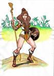 Teela the warrior goddess