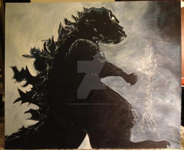 Godzilla by cleverquandary
