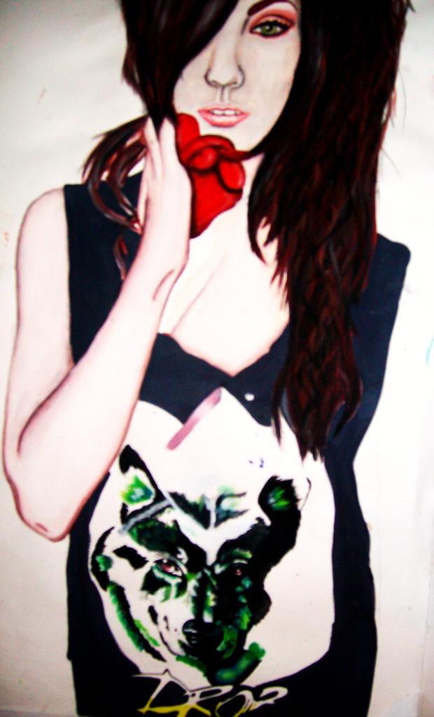 Amanda Hendrick WIP by nyona-xo on DeviantArt