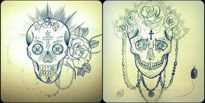 Unfinished Skulls 1.