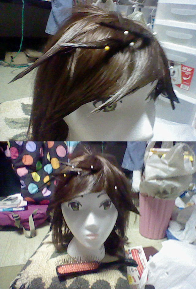 Styling Pit - Kid Icarus wig by kouweechi on DeviantArt