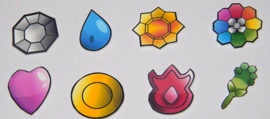 Pokemon Kanto Badges For Sale 202348265