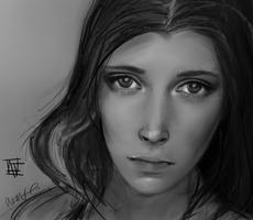 A Quick Portrait by alisonmf