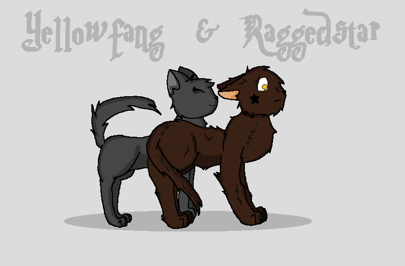 yellowfang and raggedstar by nettleclaw1100 on deviantart