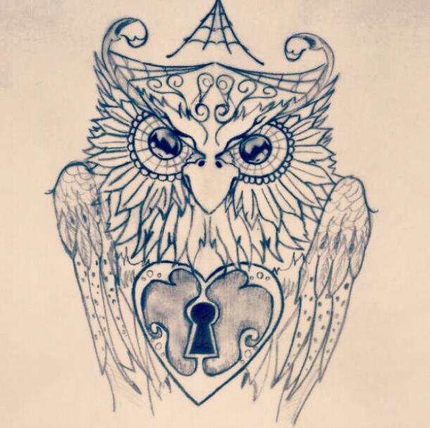 Owl Drawing by artmaker77 on DeviantArt