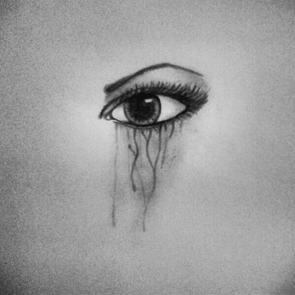 Sad Eyes Drawing
