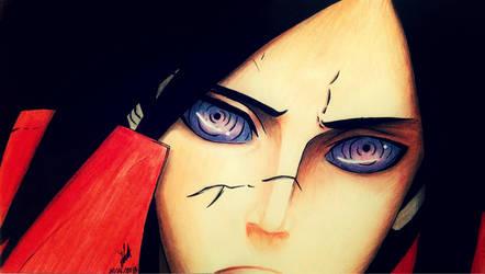 Uchiha Madara by artmaker77