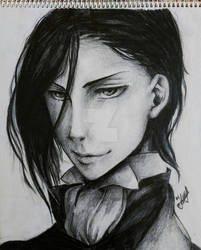 Sebastian Michaelis - Realistic Drawing