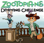 Zootopians Pirates! Drawing challenge (CLOSED)