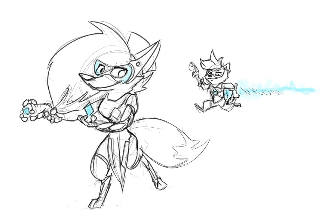Overwatch by Steampoweredfoxes