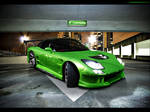 Mazda RX7 Green Monsta