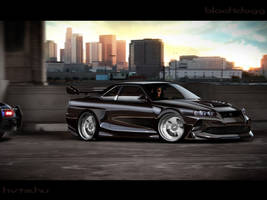 Nissan Skyline GT-R by blackdoggdesign