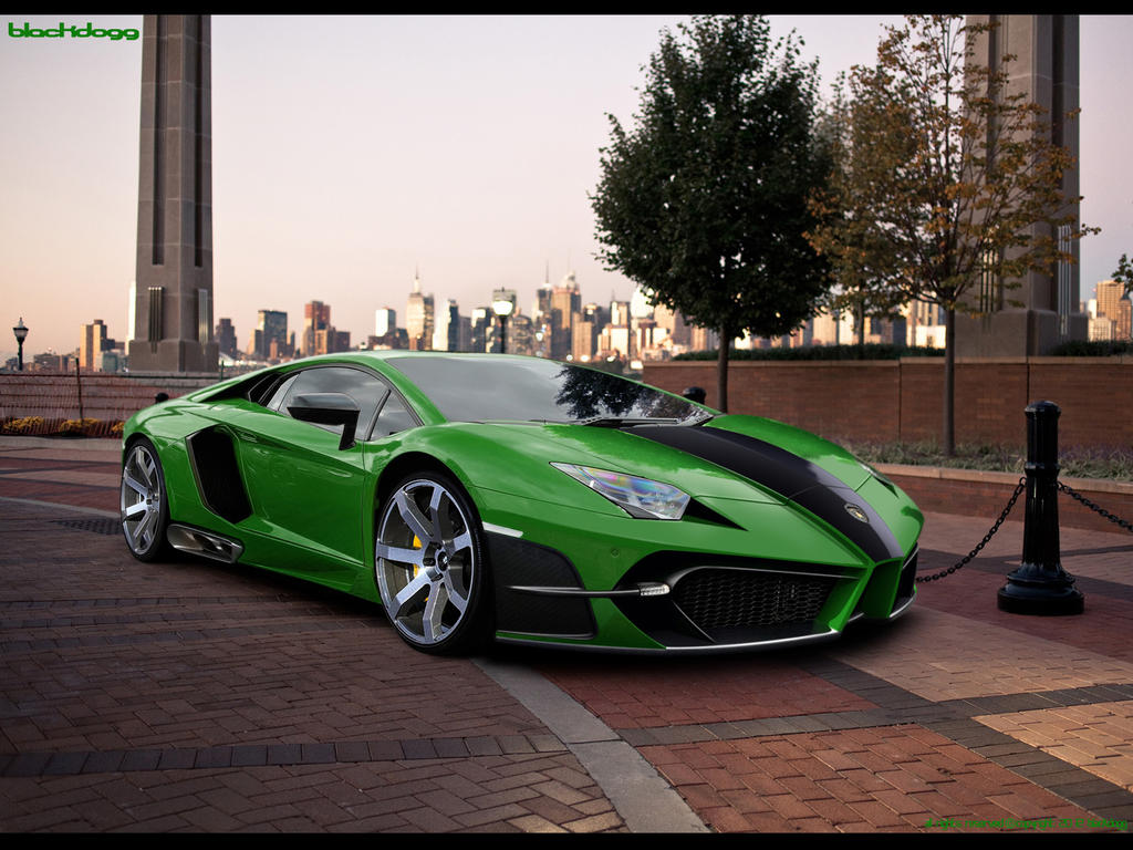 Lamborghini Aventador LP-700 by blackdoggdesign