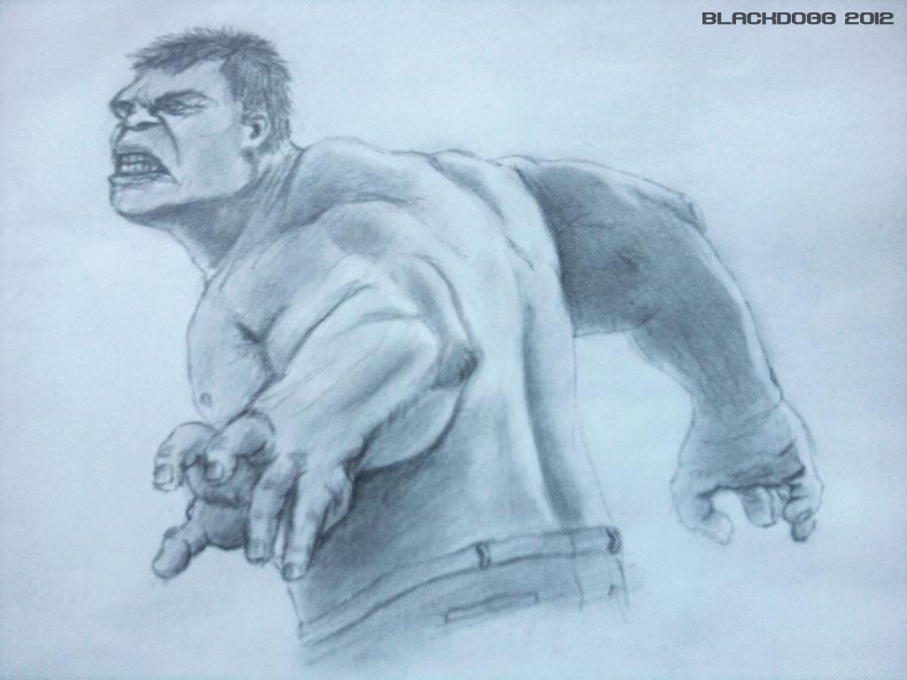 Avengers - Hulk by blackdoggdesign
