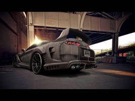 Toyota Supra Hunter by blackdoggdesign