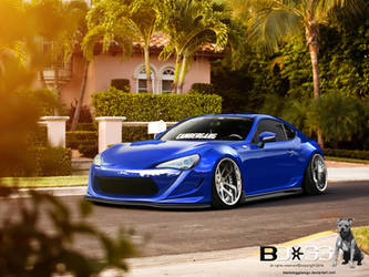 Toyota Gt86 by blackdoggdesign