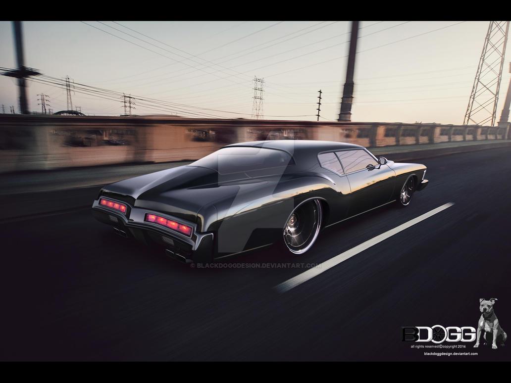 Buick Riviera by blackdoggdesign