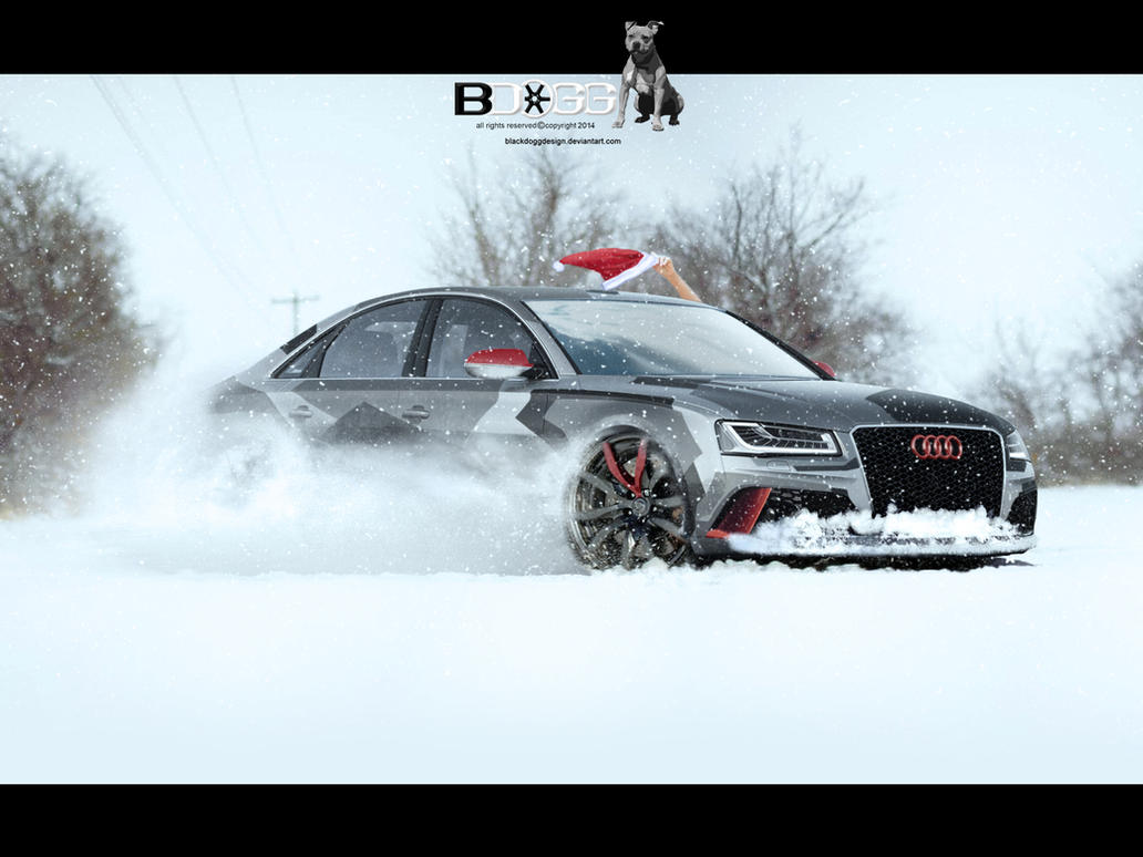 Audi A8 by blackdoggdesign