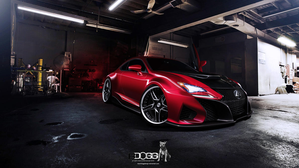 Lexus Rc-f by blackdoggdesign