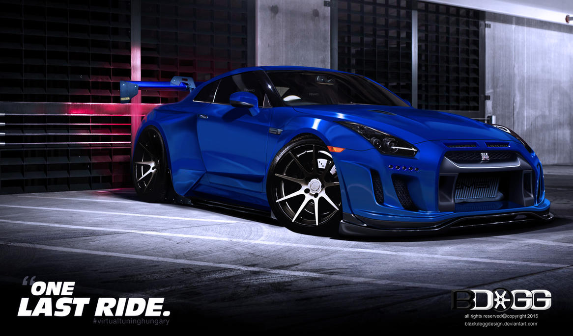 Nissan GTR One Last Ride by blackdoggdesign