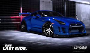 Nissan GTR One Last Ride