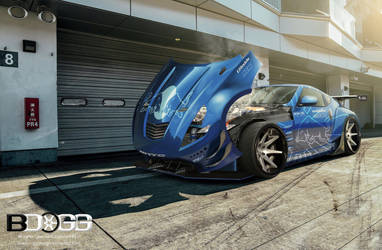 Nissan Bensopra Z by blackdoggdesign
