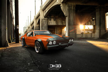 Chevy Chevelle by blackdoggdesign