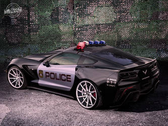 Chevrolet Corvette by blackdoggdesign