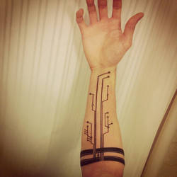 Family Circuitree Tattoo