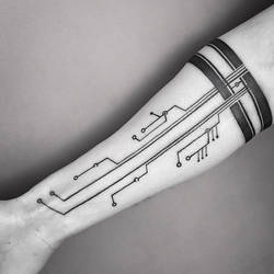 Family Circuitree Tattoo (by Dino Nemec)