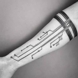 Family Circuitree Tattoo (by Dino Nemec)