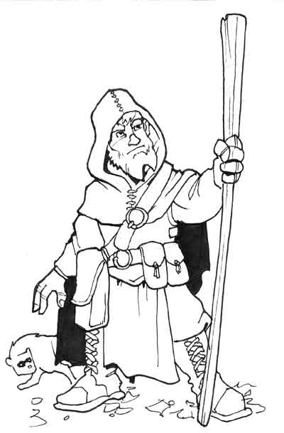 Short druid by Pachycrocuta